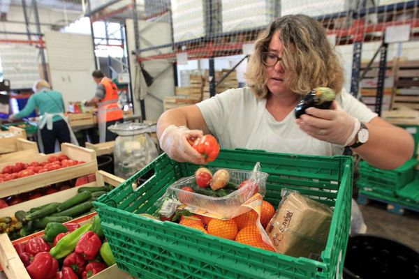 En 2018, les bénévoles de la Banque alimentaire de la Somme ont distribué de la nourriture à plus de 10.000 personnes