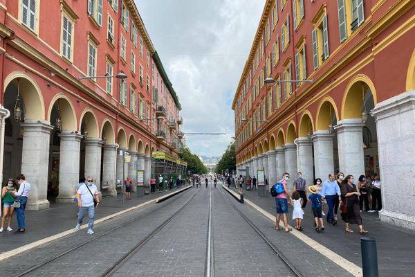 Attention, le réseau du tramway de Nice est perturbé par le Tour de France.