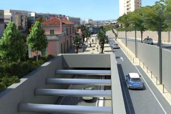 Le lancement de l'aménagement de la sortie ouest de la voie Mathis