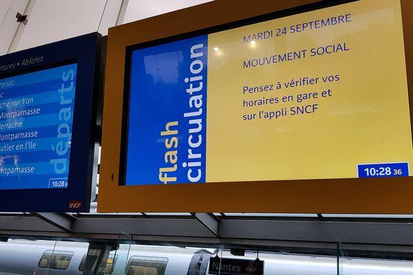 Transports perturbés, la CGT a fait de ce 24 septembre une journée de mobilisation contre la réforme des retraites en cours
