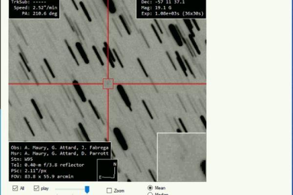 Alain Maury, Georges Attard et Daniel Parrott ont découvert cette comète le 9 mai 2021 grâce à une nouvelle ingénierie.
