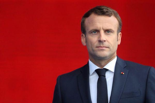Le président de la République Emmanuel Macron