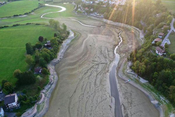La sécheresse de l'été a mis à mal les bassins du Doubs sur le secteur de Villers-le-lac.