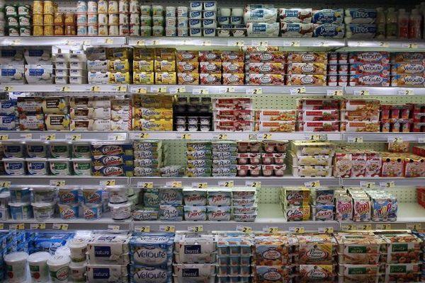 """Le """"Cartel du yaourt"""" condamné à une amende de 192.7 millions d'euros"""