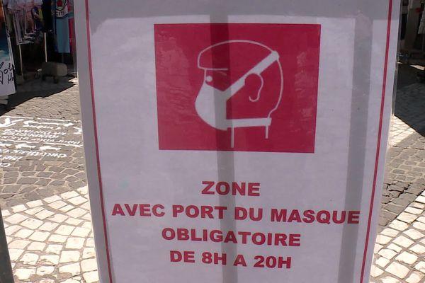 Il faut désormais porter un masque pour aller dans la zone piétonne du Grau-du-Roi