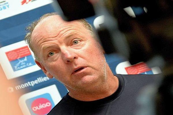 Jake White, entraîneur de Montpellier - archives