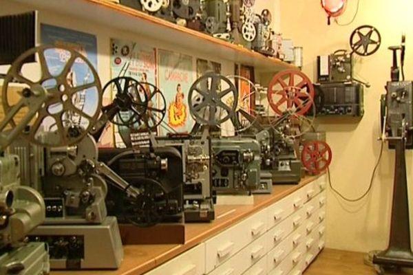 Le musée privé du cinéma de Varennes-Vauzelles ouvre ses portes pour les journées du patrimoine 2015.