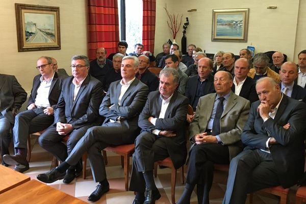 23/04/16 - Les soutiens d'Alain Juppé réunis près de Bastia
