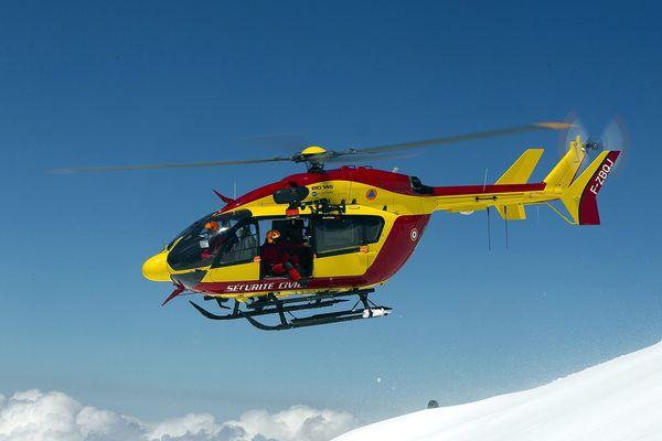 L'hélicoptère Dragon 74 (Photo d'illustration).
