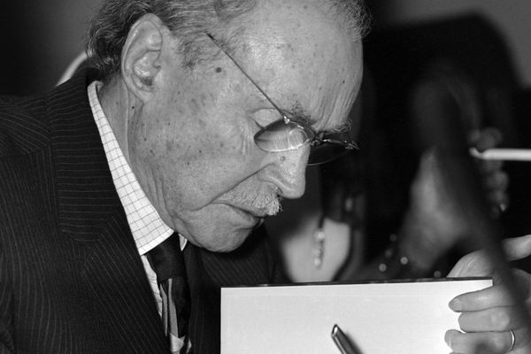 Maurice Genevoix, en 1971