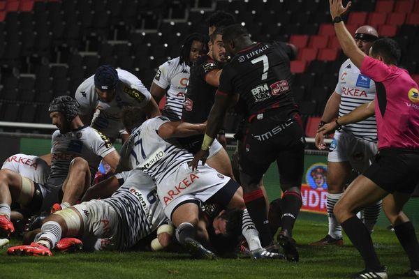 Les joueurs de l'UBB avaient affronté les Lyonnais le 5 octobre dernier à au Stade Gerland.