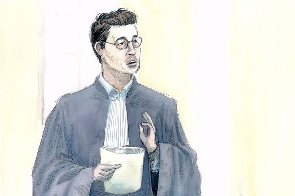 Maître Gabriel Dumenil, avocat de Willy Bardon