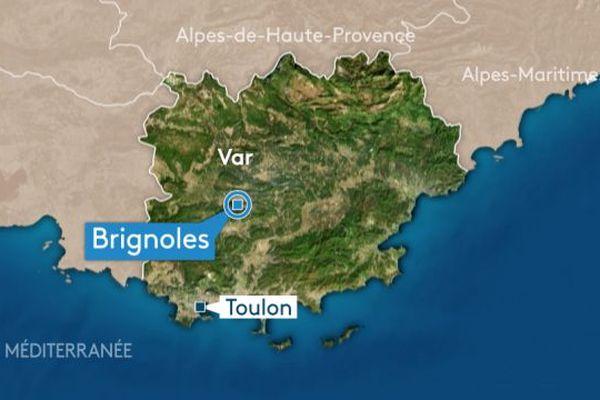 La ville de Brignoles, dans le Var.