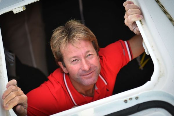Emmanuel Le Roch, skipper du Class40 Edenred