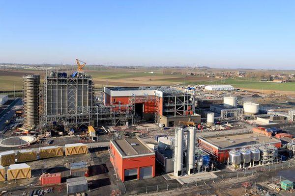 La centrale à cycle combiné gaz de Bouchain, près de Valenciennes.