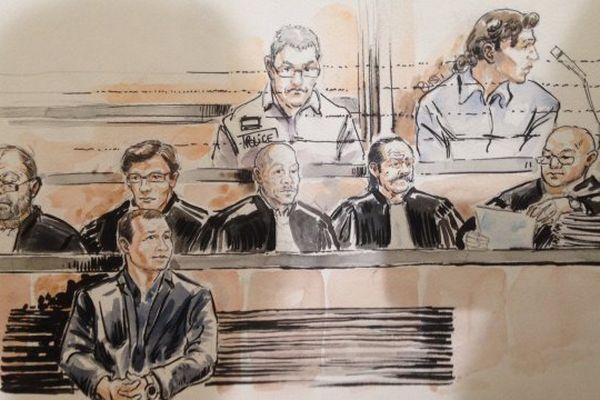 17/06/16 - Nizar Feddaoui est accusé d'avoir, le 9 juillet 2012 à Ajaccio, assassiné par balles Yves Manunta alors qu'il regagnait son domicile à scooter. A ses côtés, un autre accusé comparaît seulement pour les délits d'association de malfaiteurs en vue de commettre un assassinat et recel d'un scooter.