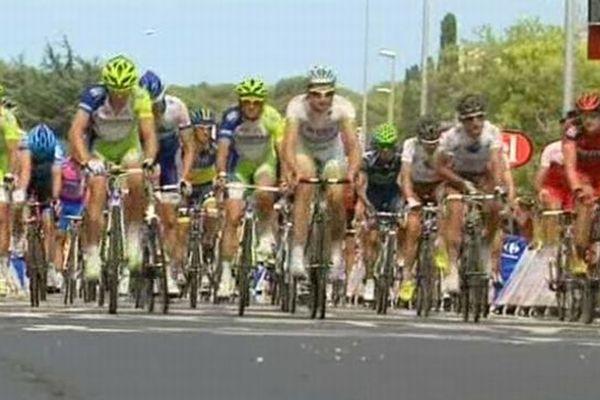 Hérault - passage du Tour de France 2012.