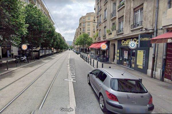Les deux personnes ont été blessées à hauteurs de la rue du Maréchal Foch, dans le 4ème arrondissement de Marseille