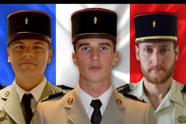 Les trois hommes appartenaient au 19ème régiment du Génie de Besançon