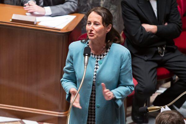Ségolène Royal, ministre de l'écologie et du développement rural