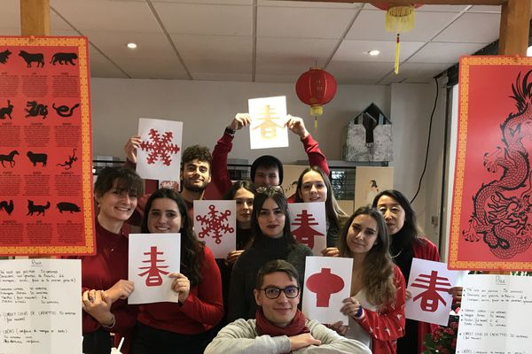 Le nouvel an chinois pour promouvoir la filière d'enseignement LEA anglais-chinois