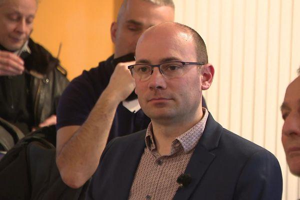 Jonathan Prioleaud, candidat à la mairie de Bergerac en Dordogne. Issu de la majorité sortante