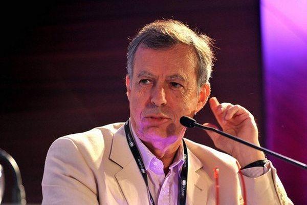 Bernard Maris à Toulouse pour le Forum Economique de Toulouse en Septembre 2013