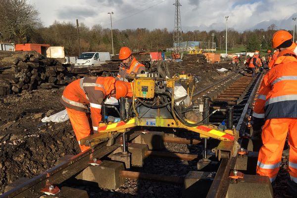Les travaux de réaménagement de l'ancien site de triage ont commencé à Limoges.