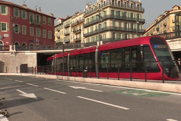 La ligne 2 du tramway mise en service au port de Nice depuis le 14 décembre 2019