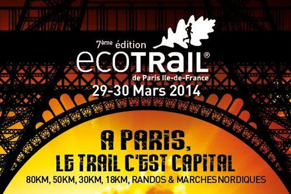 10.000 participants attendus pour l'Eco-Trail de Paris les 29 et 30 mars 2014.