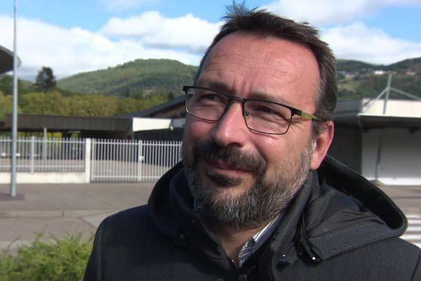 Frédéric Hilbert (EELV) est tout de même satisfait, malgré sa défaite.