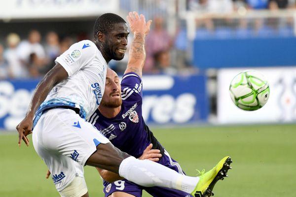 L'AJA a dominé l'AC Ajaccio durant toute la rencontre, comptant pour la 6e journée de Ligue 2, le 30 août 2019.
