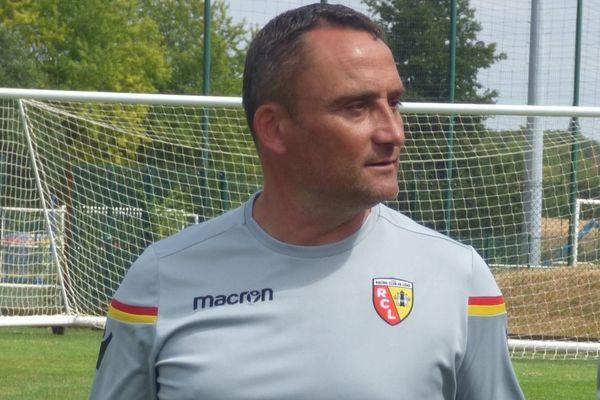 Franck Haise en juillet 2018, alors qu'il entraîne l'équipe de réserve.