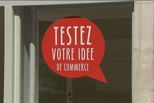Le rapport sur la dynamisation commerciale du centre de Nancy établi par la Ville de Nancy mettait en avant le concept de commerce à l'essai.
