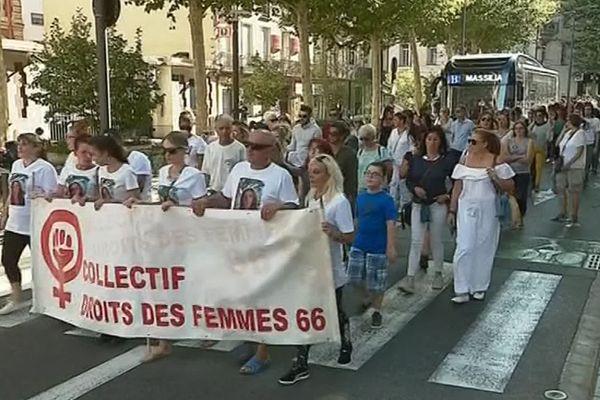Perpignan - manifestation du collectif des droits des femmes 66 - 7 septembre 2019.