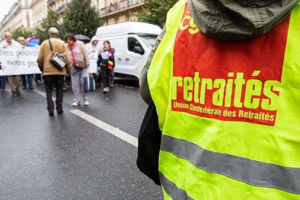 Nouvelle journée de mobilisation contre la réforme des retraites, mardi 8 octobre 2019 en Bourgogne-Franche-Comté. Photo d'illustration