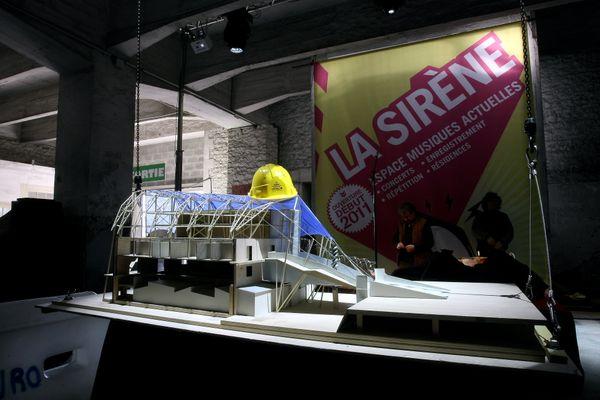 Les travaux de La Sirène vont commencer en 2009 et vont durer 18 mois.