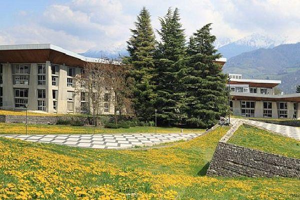 L'Université Joseph Fourier à Grenoble.