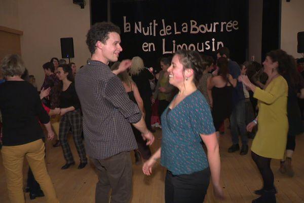 6ème Nuit de la Bourrée en Limousin, à Sainte-Féréole (19)