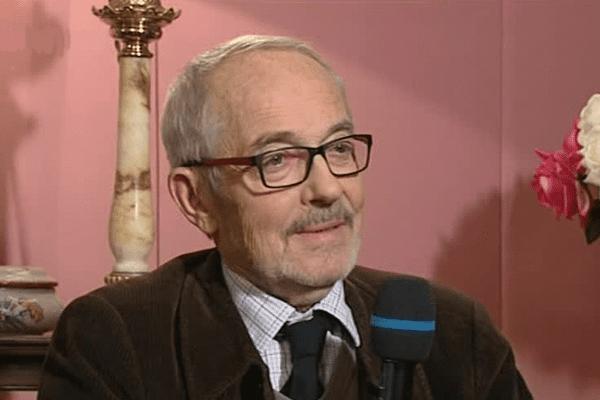 Philippe Marchand invité du JT Poitou-Charentes le 08 janvier 2016 pour le 20e anniversaire de la mort de François Mitterrand