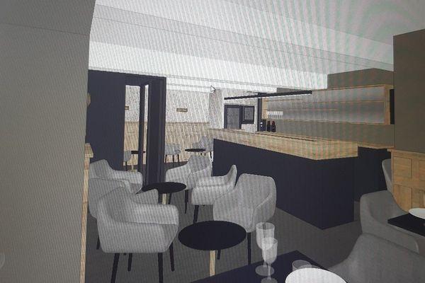 Projet d'aménagement de salle