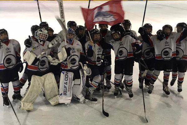 Les jeunes Drakkars normands prêts pour le tournoi canadien Pee-wee