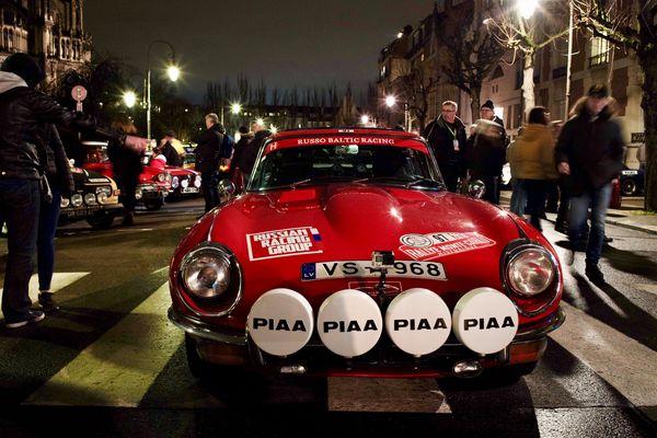 En février 2019, le rallye Monte-Carlo historique avait démarré devant la cathédrale de Reims.