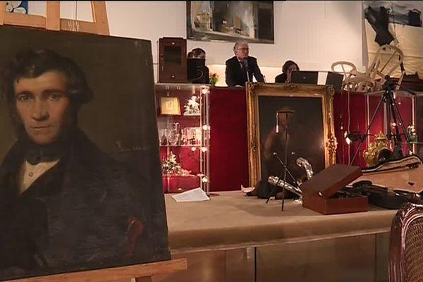 Le portrait de Pouchkine par Raden Saleh, aux enchères à Vannes