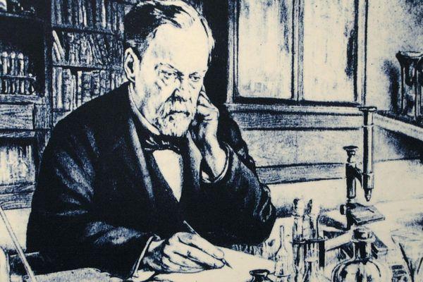 Louis Pasteur dans le musée de sa maison natale à Dole.