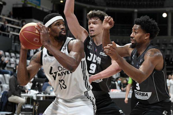 Basket: l'Asvel s'incline face à Dijon à l'Astroballe (84-76)  - 9/3/2021