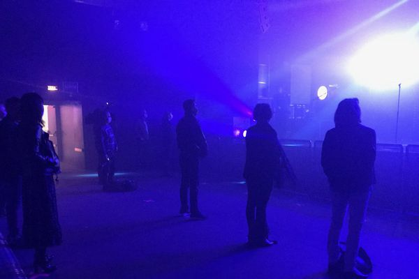 60 personnes ont assisté à l'un des premiers concerts post-confinement à La Laiterie de Strasbourg, vendredi 4 juin 2020.