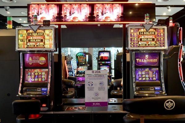Depuis octobre, les casinos sont fermés