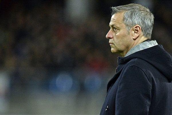 Bruno Genesio, l'entraîneur de l'Olympique Lyonnais