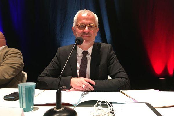 Éric Corréia élu pour un second mandat à la tête de la communauté d'agglomération du Grand Guéret le 10 juillet 2020.